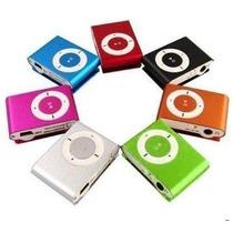 Mp3 Player Shuffle Clip Fm + Cabo Usb + Fone + Cartão Sd 4g