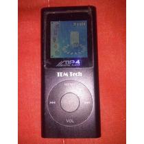 Mp4 Tdm Tech Com 1gb De Memória Interna/som Externo