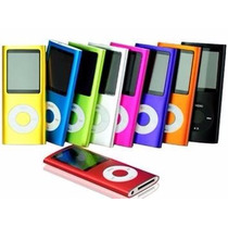 Mp4 Mp3 Player Musica Slim Lcd Tela 1.8 Envio Rapido
