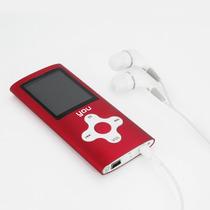 Mp4 Player You Sound Verrmelho 4gb Rádio Fm Gravador De Voz