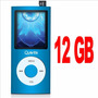 Mp4 Player 12gb Quanta Usb Fm Mp3 Com Alto Falante Externo