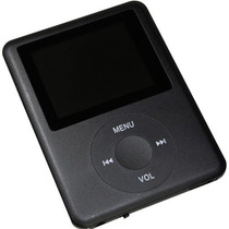 Mp4 Player Mp3 Fm Video Gravador De Voz Lcd Micro Sd