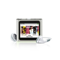 Mp4 Player 1.8 Tela Multi-touch Rádio Fm (prata)