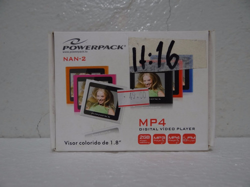 Mp4 Nan 2 Tela 1.8 Fm Powerpack 2gb