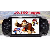 Vídeo Game Portátil 10 Mil Jogos Lançamento 2015 +power Bank