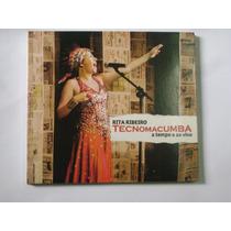 Cd Rita Ribeiro - Tecnomacumba A Tempo E Ao Vivo
