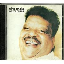 Tim Maia Voltou Clarear 1994 Raro E Fora De Catálogo!!!