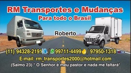 Mudanças,fretes E Carretos Para Todo O Brasil