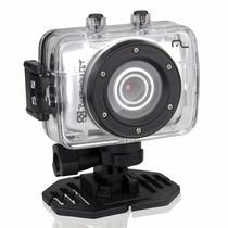 Câmera E Filmadora Sportcam Burnquist 14mp- Dc180 Multilaser