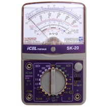 Multimetro Analogico Profissional De Mesa Icel Sk 20