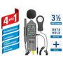 Decibelimetro Luximetro Medidor Temperatura/ Umidade Htm-401