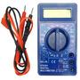 Multímetro Digital Lcd C/ Bip 2 Pontas Ac Dc 10a Ford #fd119