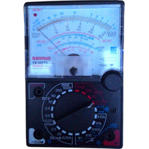 Multímetro Analógico Profissional Com Bip Mod. 360trn Sannuo
