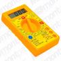 Multímetro Digital Profissional Com Bateria E Visor Lcd