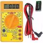 Multímetro Digital Dt 830 B C/bateria 9 V E Pontas De Prova