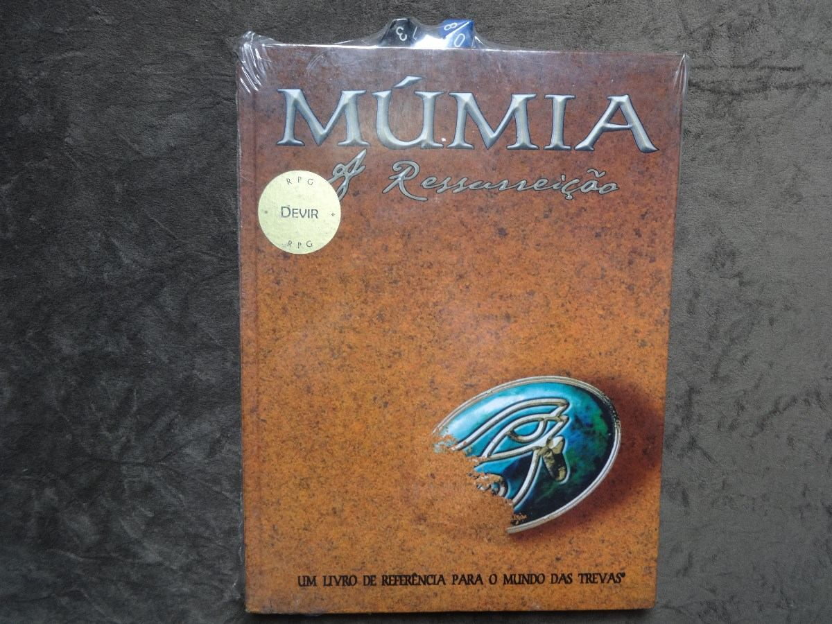 RPG no egito antigo Mumia-a-ressurreicaolivro-novo-11904-MLB20052024642_022014-F