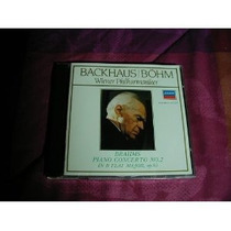 **brahms **piano Concerto No. 2 **backhaus Bohm **cd