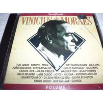 Cd Vinicius De Moraes Songbook Vol. 1 Tom Jobim