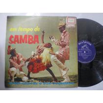 Lp - Erlon Chaves E Sua Orquestra / Em Tempo De Samba