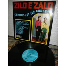 Zilo E Zalo Guardarei Seu Coração Lp Raro 1968