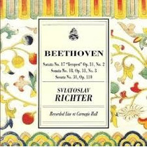 Cd Beethoven Sonatas Para Piano Nos 17, 18, 31 Richter- Live