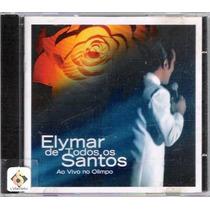 Cd Elymar De Todos Os Santos - Ao Vivo No Olimpo