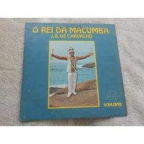 O Rei Da Macumba J.b. De Carvalho Compacto Vinil 7