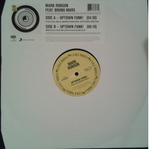 Mark Ronson Feat Bruno Mars - Uptown Funk 12 Vinyl