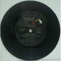 Compacto Vinil Michael Jackson - 04 Sucessos Happy - 1984
