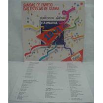 Sambas De Enredo Escolas De Samba Sp 1992 Lp Com Encarte