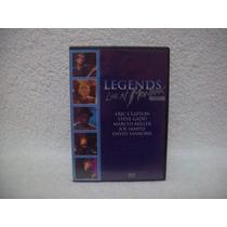 Dvd Legends- Live At Montreux 1997- David Sanborn, Clapton