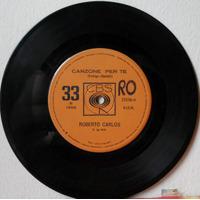 Compacto Vinil Roberto Carlos - Canzone Per Te - 1968 - Cbs