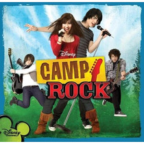 Cd-camp Rock-trilha Sonora Do Filme Walt Disney
