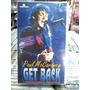 Paul Mccartney Get Back Vhs Original Ótimo Estado