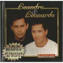 Cd Original Leandro & Leonardo - Sucessos