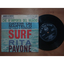 Compacto Vinil - Rita Pavone - Surf