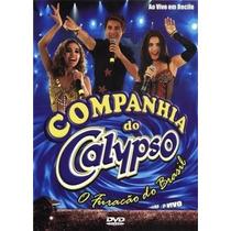 Dvd Companhia Do Calypso Ao Vivo Em Recife Lacrado