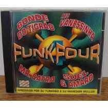 Cd-funk Four-mr Catra-suel E Amaro-em Otimo Estado