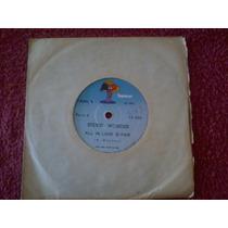 Compacto Stevie Wonder 1974 All Is Love Is Fair_too High