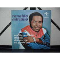 Ronaldo Adriano Vestido Molhado + 3 Faixas Compacto Tapecar