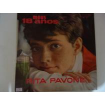 Disco De Vinil Lp Meus 18 Anos Rita Pavone Lindooooo