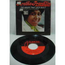 Aretha Franklin Compacto Vinil Import The House That Jack Bu