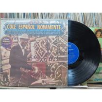 Nat King Cole Español Novamente Lp Capitol Stereo