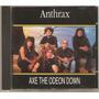 Cd Anthrax - Live The Odeon Down ( Importado Italiano )