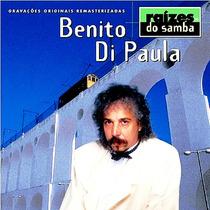 Cd Benito Di Paula - Raízes Do Samba *** Frete Grátis ***