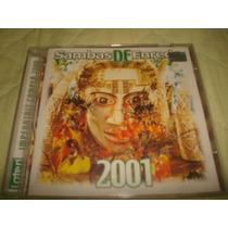 Cd Samba Enredo 2001 Do Rio De Janeiro Original E Perfeito