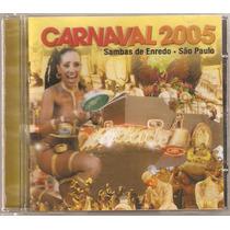 Cd Sambas De Enredo Carnaval São Paulo 2005
