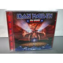 Cd Iron Maiden - En Vivo! - Duplo Novo Lacrado Nacional
