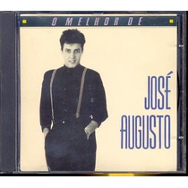 Cd O Melhor De José Augusto - 1989 / Frete Gratis