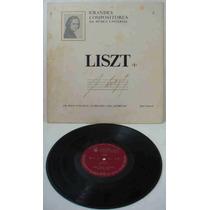 Grandes Compositores Da Música Univers Ed Abril Lp F. Liszt